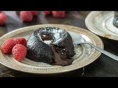 Eggless Chocolate Lava Cake :: Home Cooking Adventure
