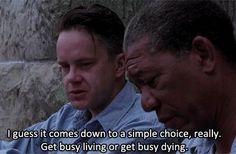Shawshank Redemption (Andy Dufresne) Tim Robbins... Great film