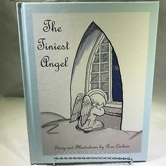 The Tiniest Angel by Ron Carlson Hardcover Book 9x11 inches Christian Children
