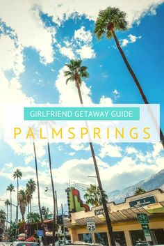 Girlfriend Getaway in Palm Springs- I'm already thinking of trips for @carleyalderman, @bandurple, and myself!
