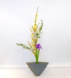 """89 Likes, 3 Comments - Ikebana by Junko (@ikebanabyjunko) on Instagram: """"#池坊 #いけばな教室 #ロンドン #立花 ##池坊 #いけばな教室 #ロンドン #生花 #三種生 #ikenobo #ikebana #ikebanaclass #london…"""""""