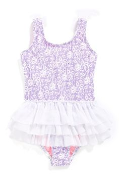 Hula Star 'Sugar Plum' One-Piece Swimsuit (Toddler Girls & Little Girls) available at #Nordstrom
