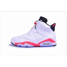 Pre Order 384664-123 Air Jordan 6 Retro Infrared White/Infrared-Black 2014 Cheap Women Men Youth Size http://www.noveljordan.com/