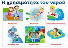 dreamskindergarten Το νηπιαγωγείο που ονειρεύομαι !: Πίνακες αναφοράς για το νερό