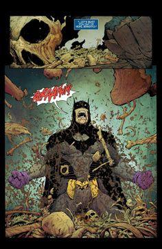 Batman #29 interior art by Greg Capullo *