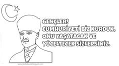 #cumhuriyetbayramı #boyamasayfaları#cumhuriyet#bayrak#belirligünvehaftalar#güzelsözler#ilkokul