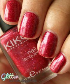 Kiko 241 + 242 on Glitter and Nails : http://glitterandnails.blogspot.fr/2012/06/cest-comme-de-la-framboise-mais-qui.html