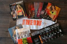 Jillian Michaels new program. BodyShred