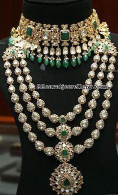 Sana showcasing diamond long chain at Malabar gold and diamond jewellery, celebrity jewellery Indian Bridal Jewelry Sets, Vintage Wedding Jewelry, Wedding Jewelry Sets, Bridal Jewellery, Silver Jewellery, Glass Jewelry, Silver Ring, Stylish Jewelry, Fashion Jewelry