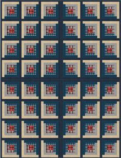 This quilt uses Mammoth Flannel and Shetland Flannel