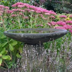 Stone Bird Bath | Staddle Stone Bird Bath - Garden Ornaments Direct