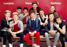 1D and their wax figures!! I think Lou and Nialler's are the most convincing!:)