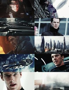 Benedict Cumberbatch - Khan. The BEST at being a bad guy- but should not have been cast as Khan.