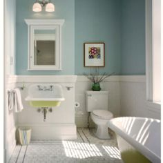 Wall color + under sink color