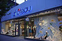 Le Chateau windows 2008 visual merchandising
