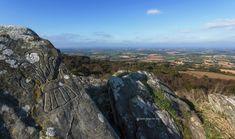 La Roche de Feu - Karreg An Tan, Montagnes Noires, Gouézec, Bretagne, Finistère