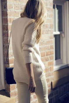 comfy big sweater