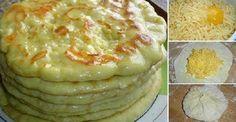 Hozzávalók :3 csésze rétes liszt1 csésze kefír2 drb tojás1 kis kanál só1…