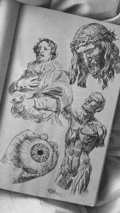 Dark Art Drawings, Pencil Drawings, Art Inspiration Drawing, Sketchbook Inspiration, Art Prompts, Hippie Art, Anatomy Art, Art Reference Poses, Art Sketchbook