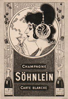 Lovely art nouveau ad 1901