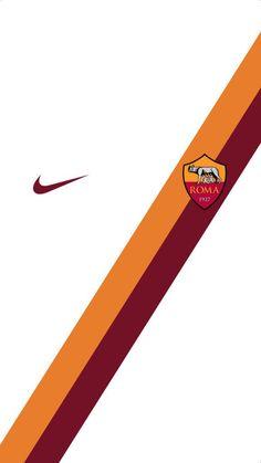 AS Roma wallpaper. Team Wallpaper, Nike Wallpaper, Football Wallpaper, Fifa Football, Football Art, Football Jerseys, Roma Fc, As Roma, Ac Milan Kit