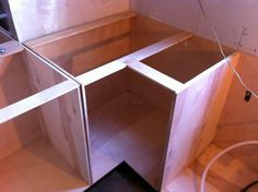 DIY kitchen cabinets More