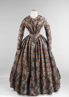 omgthatdress:  Dress ca. 1843 via The Costume Institute of the Metropolitan Museum of Art