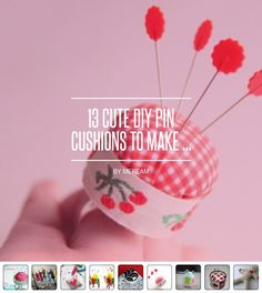13 Cute DIY Pin #Cushions to Make ... - DIY