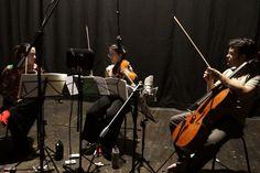 "Recording the CD ""Tang'Jok (Them)"""