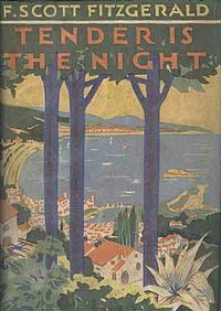 "Tender Is the Night is a novel by American writer F. Scott Fitzgerald. It was his fourth and final completed novel, and was first published in Scribner's Magazine between January-April, 1934 in four issues. The title is taken from the poem ""Ode to a Nightingale"" by John Keats."