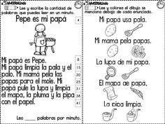 Material de LECTOESCRITURA para alumnos con dificultades - Imagenes Educativas
