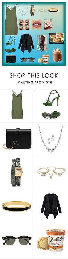 """""""quiet night at home chill out time"""" by sarah4ever123 ❤ liked on Polyvore featuring Topshop, Alberto Venturini, Mulberry, Gucci, Lipsy, NYX, Halcyon Days and Ray-Ban"""