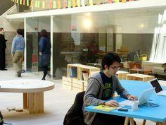 Trabajando (impulsando proyectos de innovación social) en el Hub