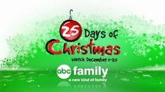 ABC Family's '25 Days of Christmas 2014' Powers Network's All-TIme Most Watched Week Among Adults 18-34 & Women 18-34 Categories: Network TV Press Releases  Written By Sara Bibel December 9th, 2014