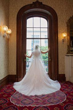 Bolling Haxall House Wedding | Bridal by Ward Photography | wardpics.com