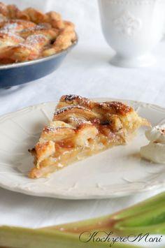 Rustikaler Rhabarber Pie - rustic rhubarb pie