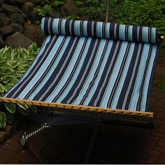 Algoma Hammocks 2932DL 13 Quilted Hammock with Matching Pillow