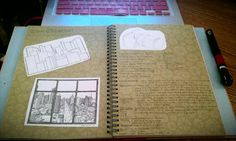 Smash Book- of collages, scrapbooking, random ideas....etc. You have to get one
