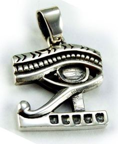 925 zilveren kettinghanger Egyptische Oog van Horus