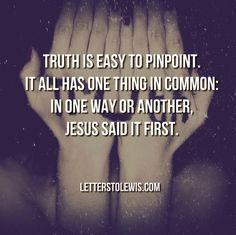 All truth is God's truth. Who represents him well? Find out: http://bit.ly/1mWAEiQ