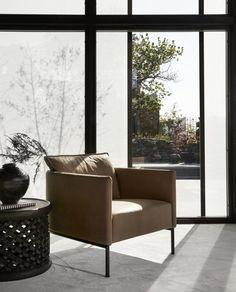 Inspirasjon • Slettvoll Outdoor Sofa, Outdoor Furniture, Outdoor Decor, Photography Portfolio, Armchair, Interior Design, Home Decor, Interiors, Future