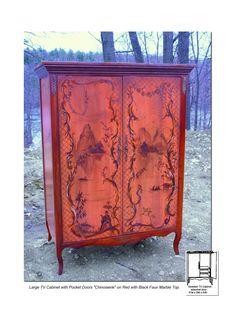 Hand Painted Bookcases and Cabinets | Pieces Furniture