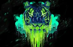 How to Create a Psychedelic Tiger Illustration in Photoshop | Photoshop Tutorials