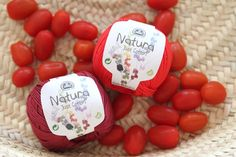 Image of DMC Natura Just Cotton - Delicious Red and Burgundy