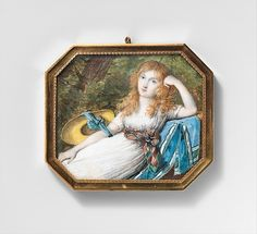 """Attributed to Jean Antoine Laurent (French, 1763–1832). Portrait of a Young Woman, ca. 1795. The Metropolitan Museum of Art, New York.  Gift of Mrs. Louis V. Bell, in memory of her husband, 1925 (25.106.16) 