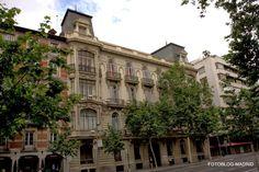 El Palacio del Marque de Portazgo, en Serrano, 9-11, en la actualidad sede del Colegio de Abogados.