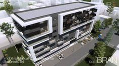 Imobil rezidential cu apartamente Bucuresti, S4 Cube, Mansions, Architecture, House Styles, Videos, Home Decor, Arquitetura, Decoration Home, Manor Houses