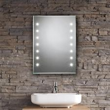 Bathroom Mirror 600 X 900 fillia 206 super bright led bathroom mirror with sensor, demister