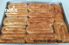 El Açması Patatesli Kol Böreği Tarifi nasıl yapılır? 5.677 kişinin defterindeki bu tarifin detaylı anlatımı ve deneyenlerin fotoğrafları burada. Hot Dog Buns, Hot Dogs, Turkish Recipes, Salsa, French Toast, Bread, Breakfast, Food, Meal