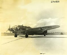 October 16, 1939: After being attacked by Spitfires of Nos. 602 and 603 Squadrons over Lothian in Scotland, an He 111 bomber became the first German aircraft to be shot down over the UK. (First attack on British territory by German Luftwaffe.)